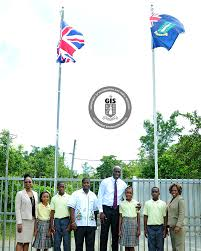 Bvi Flag Virgin Islands Pride Highlighted At Enis Adams Flag Hoisting