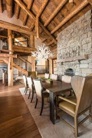Log Home Interior Photos Beautiful Log Cabin Dining Room Ideas Full Home Living