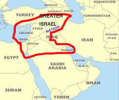 Israel World Map by Brit Am Now 1900 Ten Tribes Studies