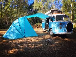 Motor Caravan Awnings Sheltapod Campervan Awnings U0026 Vw Camper Hire
