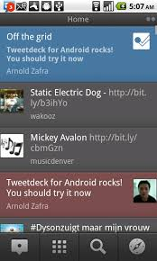tweetdeck android impressions tweetdeck for android beta app android app