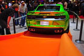 wheels chevrolet camaro concept sema u0027s biggest toy car