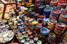 turkish ceramics handmade bowls plates tiles