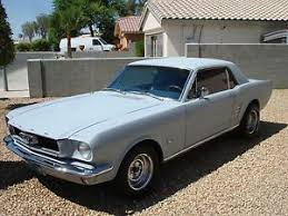 coupe mustang 1966 ford mustang coupe ebay