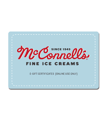 gift card online online gift card mcconnell s creams