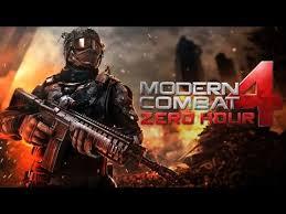 modern combat zero hour apk modern combat 4 zero hour apk v1 2 2e android