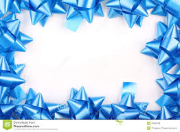 blue bows blue christmas gift bows royalty free stock image image 16596786
