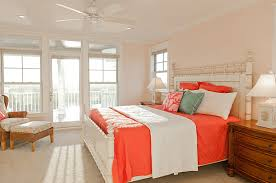 Colors And Mood How They Affect Interior Design - Coral color bedroom