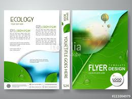flyers design flyers design template vector can be used as brochure annual