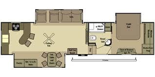 Open Range 5th Wheel Floor Plans 2014 Open Range Rv Fifth Wheel Series M 388rks Specs And Standard