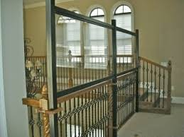 Balcony Banister Safety Wall Added To Banister With Plexi Glass Above And Below Yelp