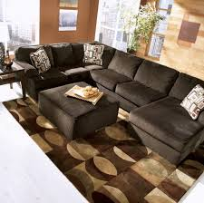 appealing chocolate brown sectional sofa with chaise 21 in stacey