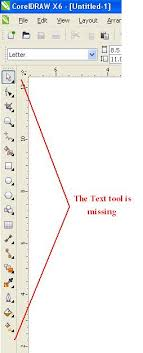 corel draw x4 error reading file how to restore missing toolbar in a toolbox in coreldraw x6
