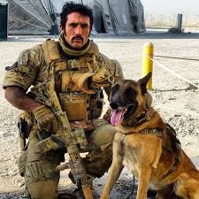 belgian shepherd special forces badass picture of a soldier and his dog afghanistan british and