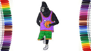 Awesome Costumes Sing Movie Magic Coloring Johnny Gorilla Changes Awesome Costumes