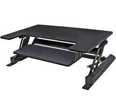 Fitbit Standing Desk Royal Adjustable Sitting Or Standing Desk Page 1 U2014 Qvc Com