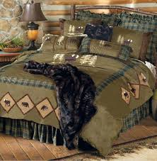 duvet covers braxton quilt rustic log cabin bedding by vhc