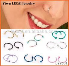 sale nose rings images Hot sell 316l stainless steel indian nose ring for body jewelry jpg