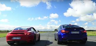 porsche 911 carrera gts porsche 911 carrera gts murders bmw m4 cs in drag race autoevolution