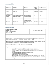 Testing Resume Sample by Etl Developer Cover Letter