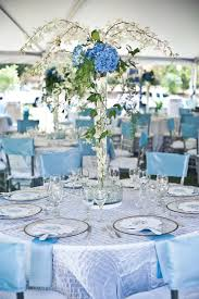 blue wedding decorations for the tables 67 winter wedding table