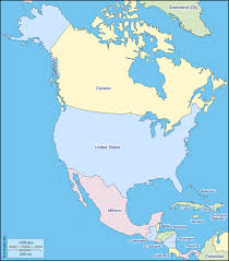 Canada Blank Map by Geography Blog Printable Maps Of North America Free Blank Map Of