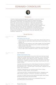 Construction Executive Resume Samples project executive resume samples visualcv resume samples database