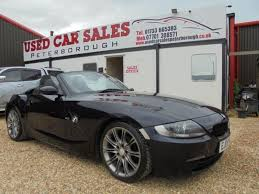 bmw z4 2008 2008 08 bmw z4 2 0 z4 sport roadster 2d 148 bhp in peterborough