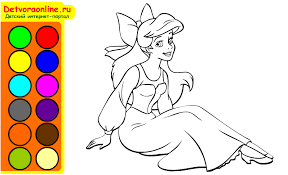 coloring pages fascinating princess painting games free disney