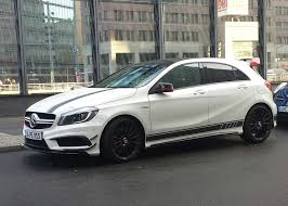 mercedes 45 amg white file white mercedes a 45 amg edition 1 jpeg wikimedia commons