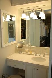 the most brilliant bathroom vanity with makeup counter clubnoma com