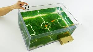 how to make unique aquarium football world cup 2018 at home 5