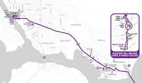 Bart Lines Map by Soltrans Route 78 U2013 I 680 Express