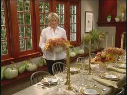 how to set a festive thanksgiving dinner table martha stewart