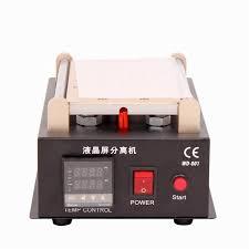 build in vacuum pump lcd separator touch screen repair machine kit