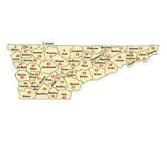 County Map Of Tennessee by Wims County Id Maps