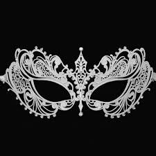 black and white masquerade masks luxury venetian metal laser cut masquerade mask wedding mask