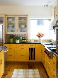 capricious kitchen yellow walls white cabinets color schemes tiles