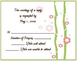 sle rsvp cards sles of rsvp cards carbon materialwitness co