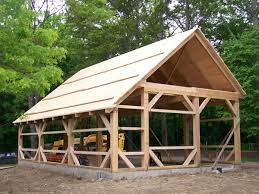 wood barn kit pictures timber frame kit homes gallery post and