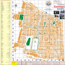 Metro Center Map by Santiago Bus And Metro Map Santiago Chile U2022 Mappery
