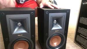 Klipsch Rb 41 Ii Bookshelf Speakers Unboxing Of The New Reference R 15m Youtube