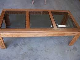 Glass And Wood Coffee Tables Updating Glass And Wood Coffee Table Hometalk