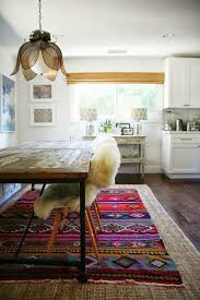 Aztec Kitchen Rug Interesting Aztec Kitchen Rug With Artistic Funky Colored Floor