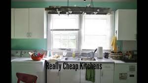 Cheap Kitchen by Really Cheap Kitchens Youtube