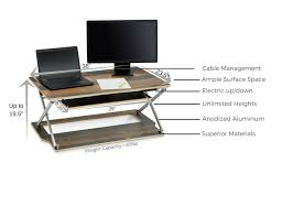 Electric Height Adjustable Desk by Attollo Height Adjustable Desk Gadget Flow