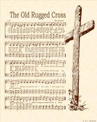 The Old Rugged Cross Music Hymns T Vintageverses