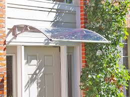 Door Awning Plans Pc1500 Series Door Canopy With Rain Channel