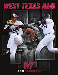 2011 wt basball media guide by west texas a u0026m athletics issuu