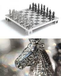 Massachusetts travel chess set images The 500 000 charles hollander royal diamond chess set is made jpg